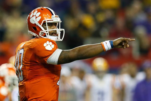 Right Place at Right Time for Tigers Quarterback Tajh Boyd