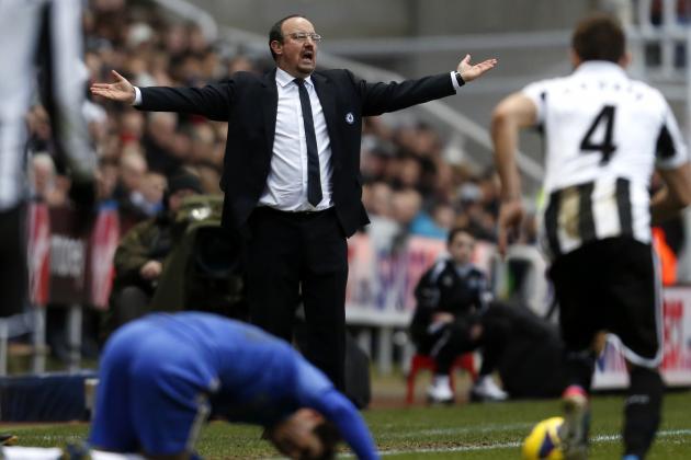 Benitez Angry at Coloccini Kick