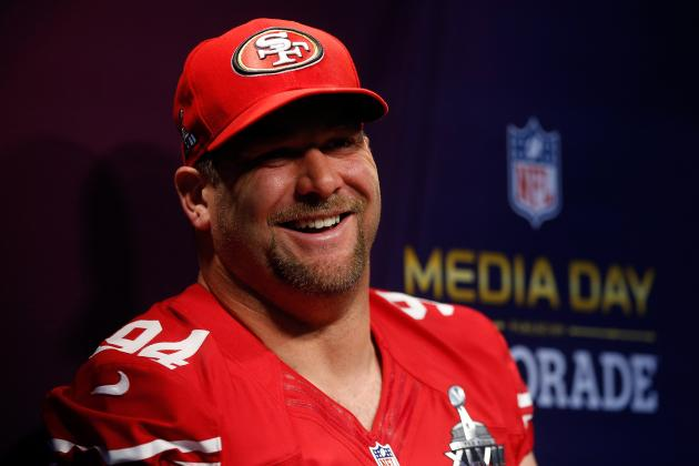 Outlook for Justin Smith Following Surgical Repair of Partially Torn Triceps