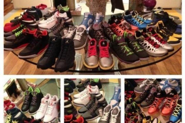 Chris Paul's Monthly Shoe Shipment Is Better Than Yours