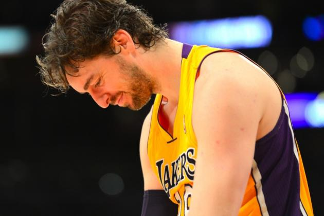 Pau Gasol: Trade from LA Lakers a 'Possibility' After Season