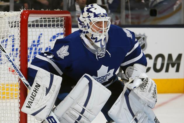 Report: Maple Leafs Goalie Ben Scrivens Likely to Get Start