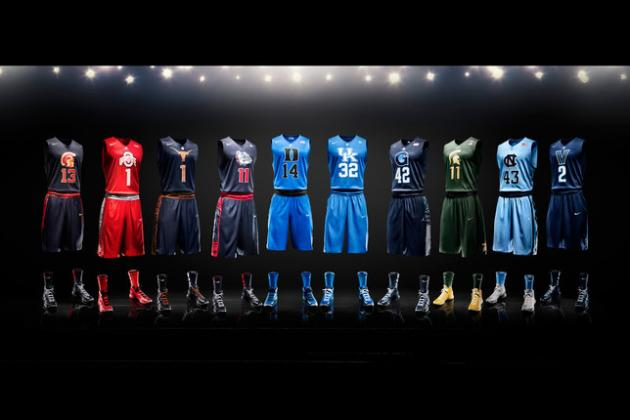 Select Teams Challenge Home Court Advantage in Nike Hyper Elite Uniforms