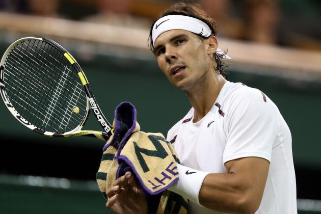 Nadal's Knee May Bother Him for a Few Weeks