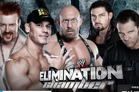 John Cena, Ryback & Sheamus vs. the Shield