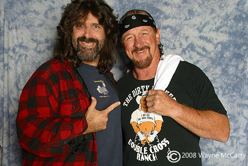 Terry Funk Set to Induct Mick Foley into WWE Hall of Fame