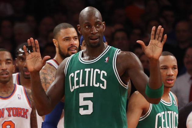 NBA Trade Rumors: Kevin Garnett Is Not the Answer to Clippers' Recent Struggles