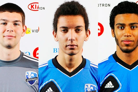 Three Impact Players with Canada U20