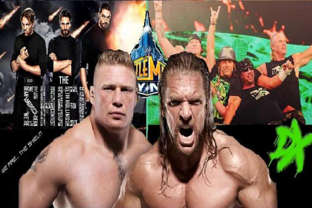 WWE: How Brock Lesnar vs. Triple H at WrestleMania 29 Could Be Interesting