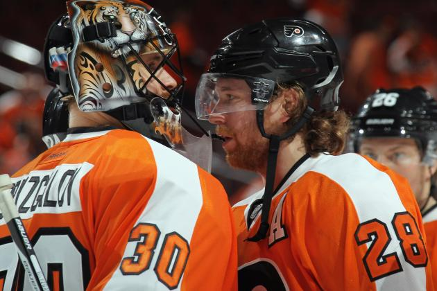 Giroux: Bryzgalov's Our Best Player Right Now