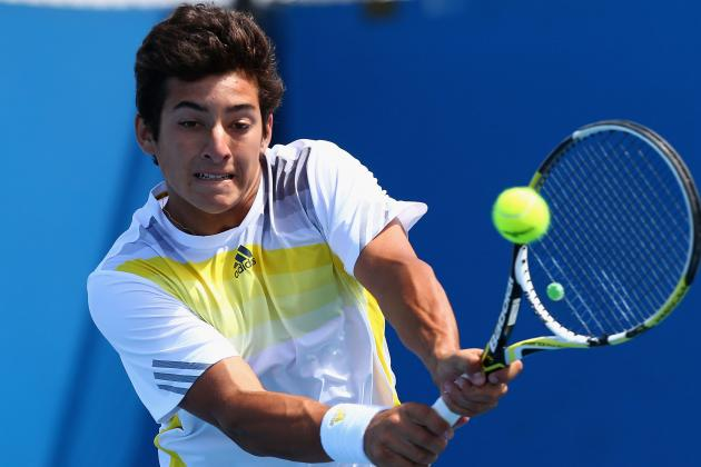 Wildcard Garin Posts First ATP World Tour Win