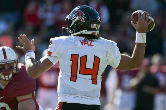 Video: Cody Vaz or Sean Mannion in 2013?