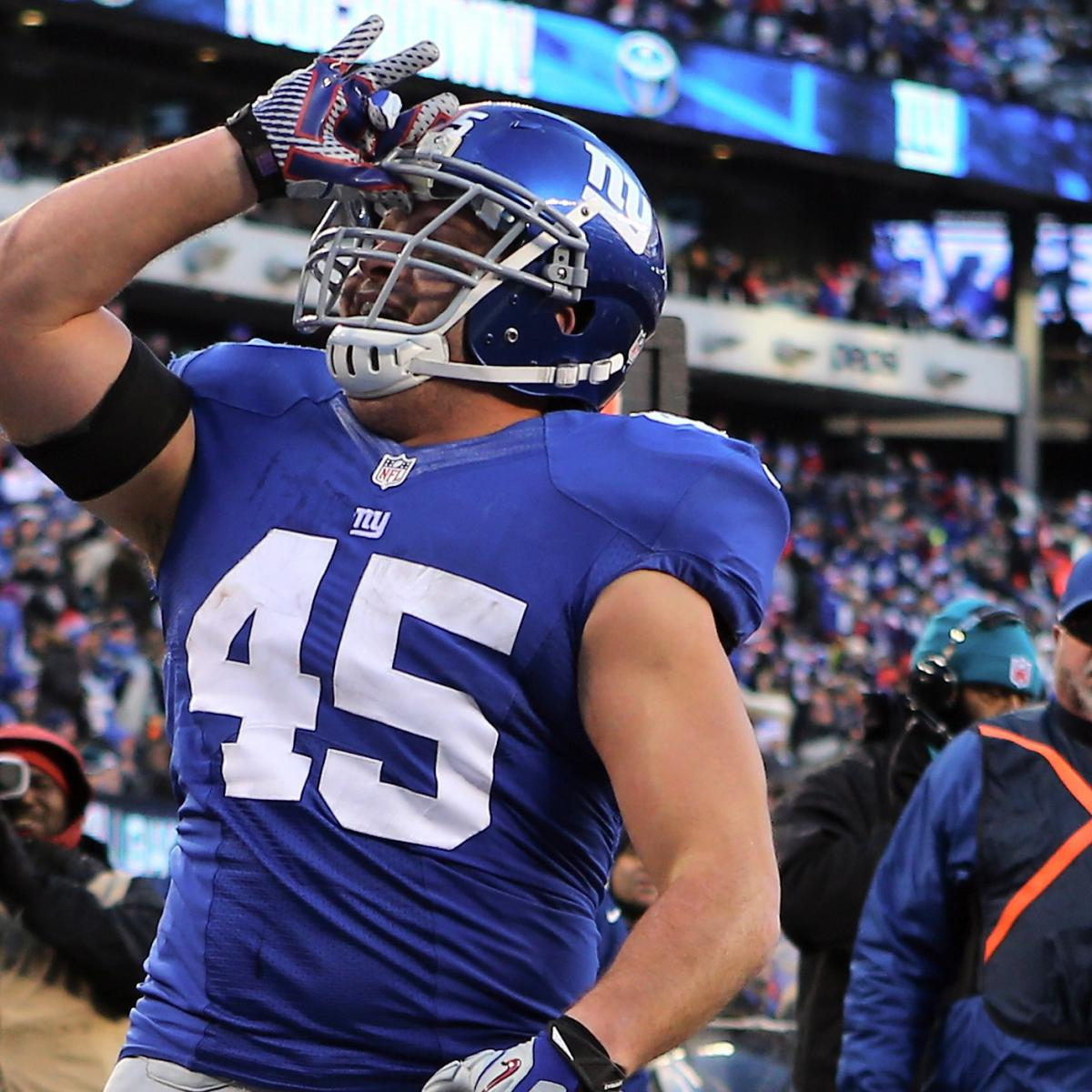New York Giants: Among Underwhelming Cast, FB Henry