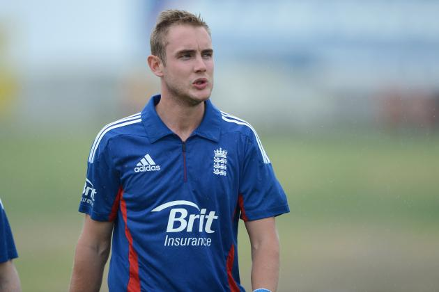 Stuart Broad Takes Hat-Trick in England's Warm-Up Win