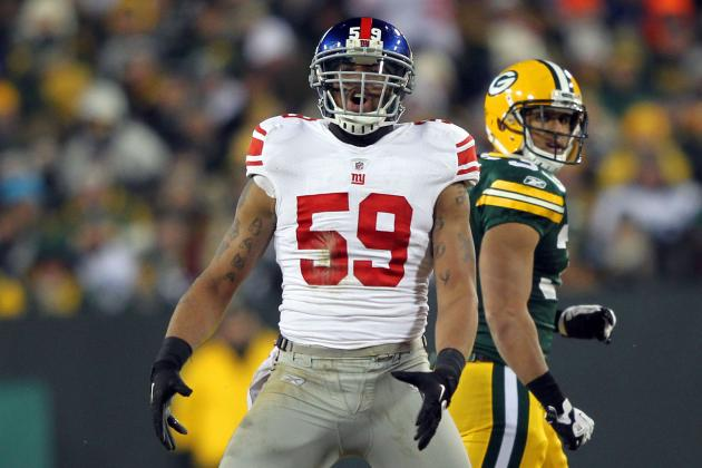 Declining Michael Boley Was No Longer Worth the Price for the New York Giants