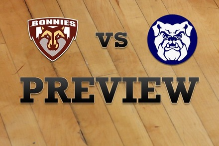St. Bonaventure vs. Butler: Full Game Preview