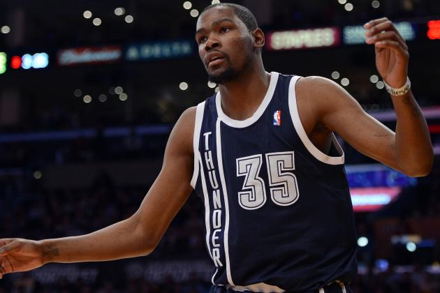 Kevin Durant on Technical Fouls; 'I Just Got to Shut Up.'