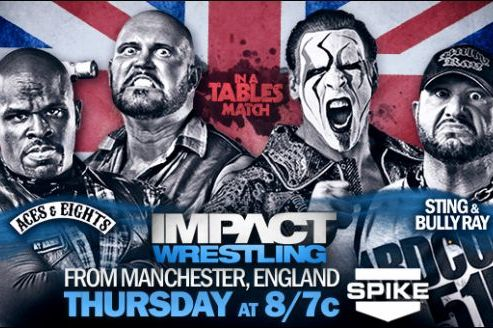 TNA Impact Wrestling UK Preview: A Tables Match, Two Titles on the Line and More