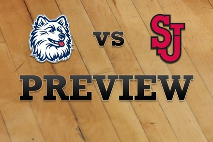Connecticut vs. St John's: Full Game Preview
