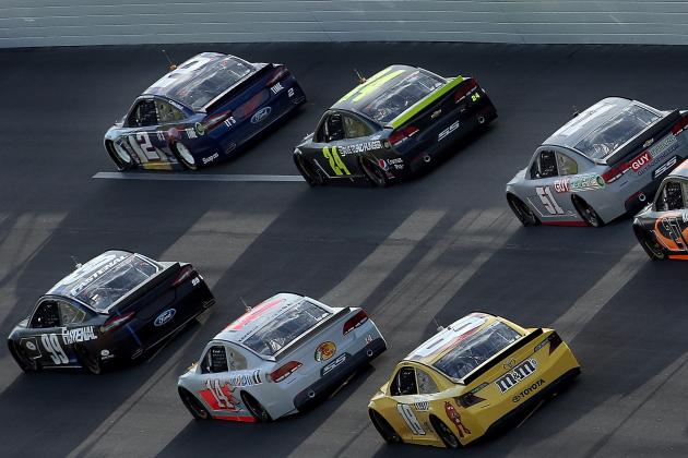 NASCAR Schedule 2013: Mapping out This Year's Chase for Sprint Cup