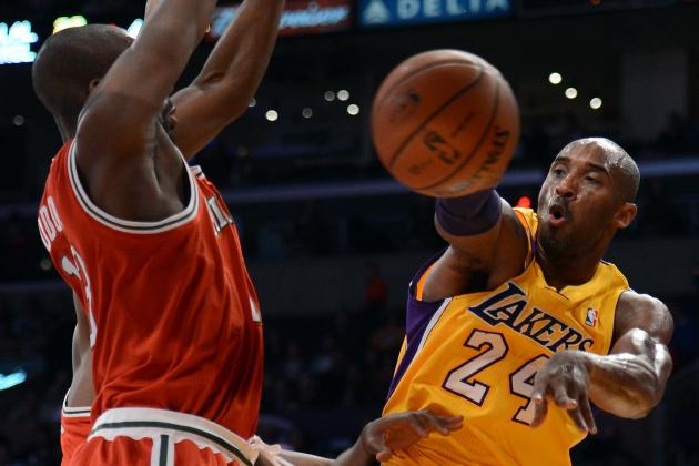 Kobe Bryant Needs to Continue Facilitator Role for Lakers to Have Success