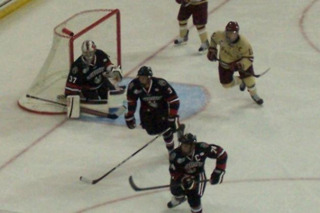 NCAA Hockey: Boston College to Face Northeastern for All the Beans Next Monday