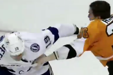 VIDEO: This Zac Rinaldo-B.J. Crombeen Fight Is Brutal