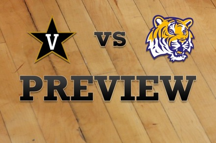 Vanderbilt vs. LSU: Full Game Preview