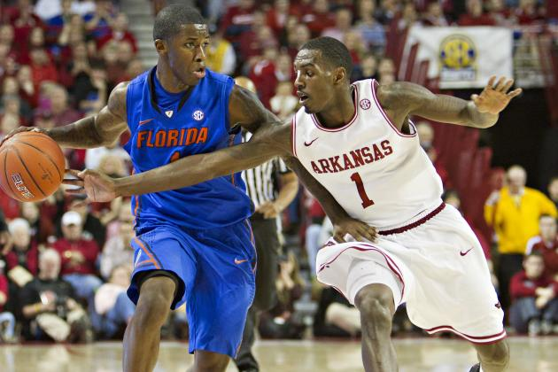 Arkansas 80, No. 2 Florida 69