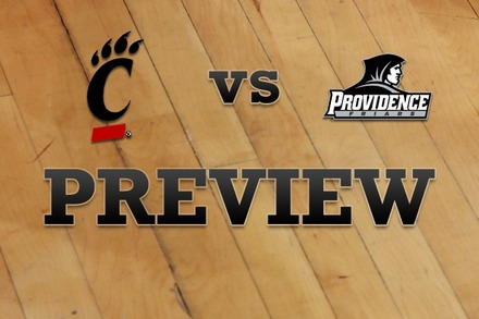Cincinnati vs. Providence: Full Game Preview