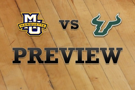 Marquette vs. South Florida: Full Game Preview