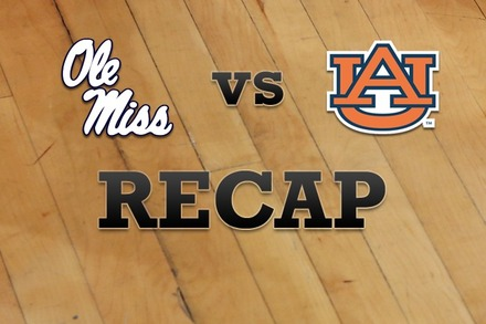 Mississippi vs. Auburn: Recap and Stats