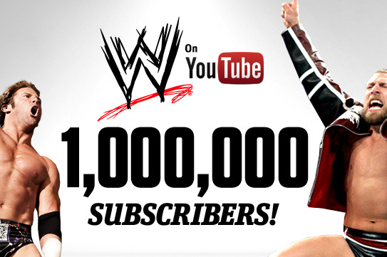 WWE News: WWE YouTube Channel Reaches 1 Million Subscribers