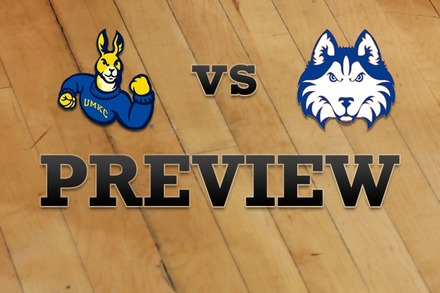 UMKC vs. Houston Baptist: Full Game Preview