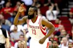 Rockets Tie NBA Record with 23 3-Pointers vs. Warriors