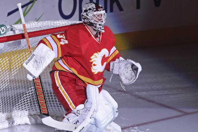 Kiprusoff to Be Re-Evaluated for Lower Body Injury on Wednesday