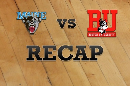 Maine vs. Boston University: Recap and Stats