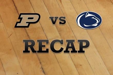 Purdue vs. Penn State: Recap and Stats