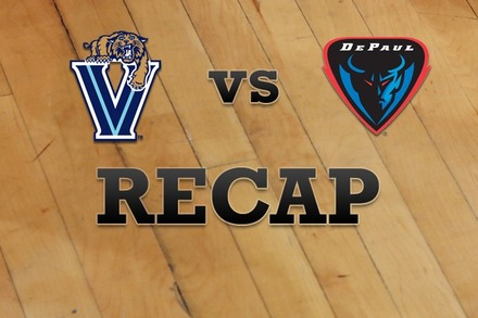 Villanova vs. DePaul: Recap and Stats