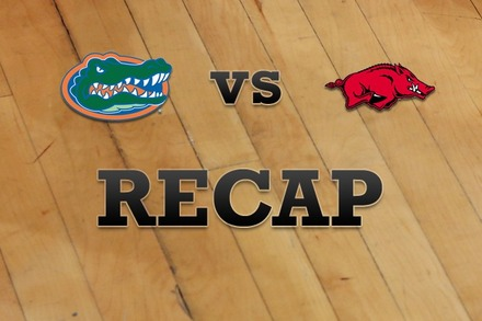 Florida vs. Arkansas: Recap and Stats