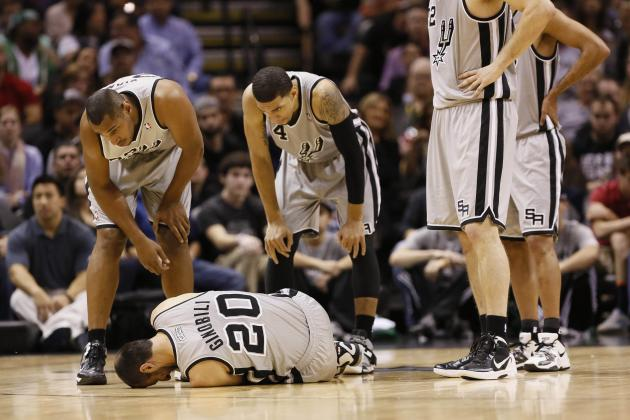 How Far Can San Antonio Spurs Go with an Ailing Manu Ginobili?