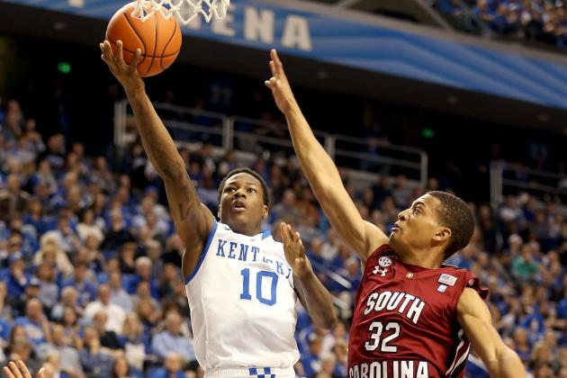 Kentucky 77, South Carolina 55