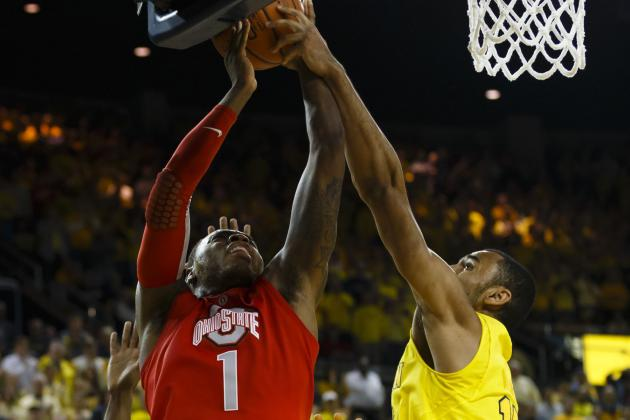 No. 3 Michigan 76, No. 10 Ohio St. 74