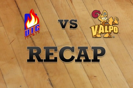 Illinois-Chicago vs. Valparaiso: Recap and Stats