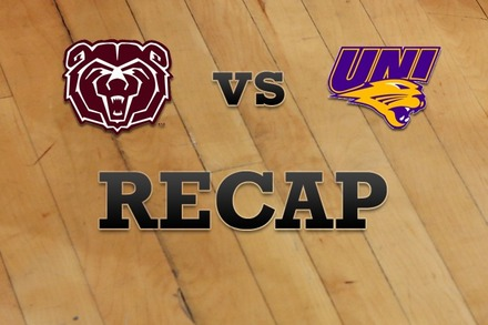 Missouri State vs. Northern Iowa: Recap and Stats