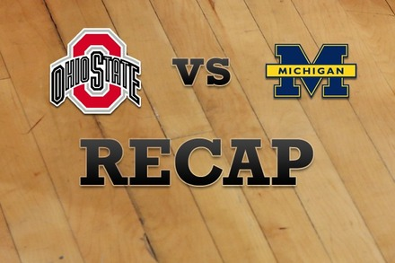 Ohio State vs. Michigan: Recap and Stats