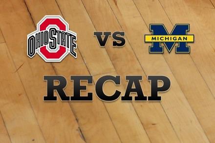 Ohio State vs. Michigan: Recap and Stats