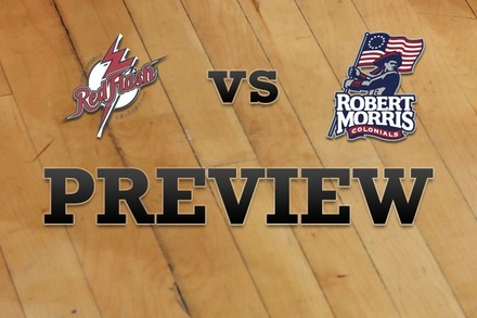 St. Francis (PA) vs. Robert Morris : Full Game Preview