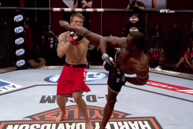 TUF 17 Ep. 3: Uriah Hall's KO Marks Him as the Man to Beat for a UFC Contract