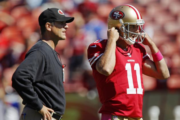 Harbaugh, 49ers Will Not Let Alex Smith Decide His Own Fate This Offseason
